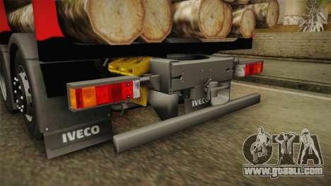 Iveco Stralis Hi-Way 560 E6 6x2 Timber v3.0 for GTA San Andreas bottom view