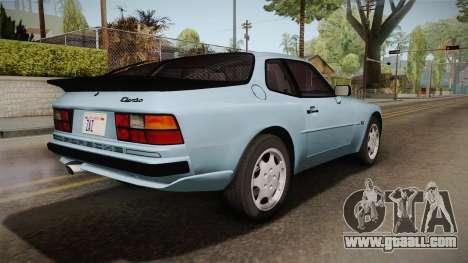 Porche Turbo for GTA San Andreas left view