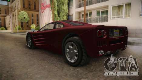 GTA 5 Progen GP1 for GTA San Andreas right view