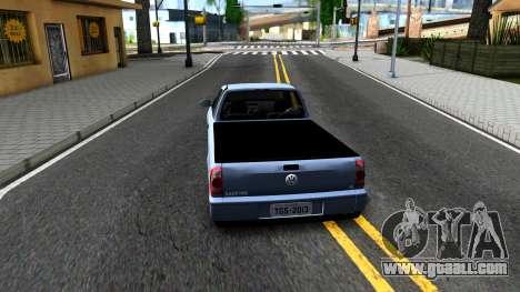 Volkswagen Saveiro G4 for GTA San Andreas back left view