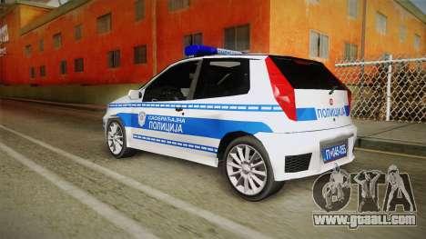Fiat Punto Gai for GTA San Andreas left view