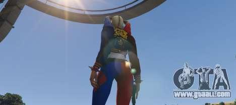 GTA 5 Harley Quinn from DC Legends third screenshot