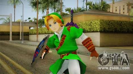 Hyrule Warriors - LINK (Ocarina Oftime) for GTA San Andreas