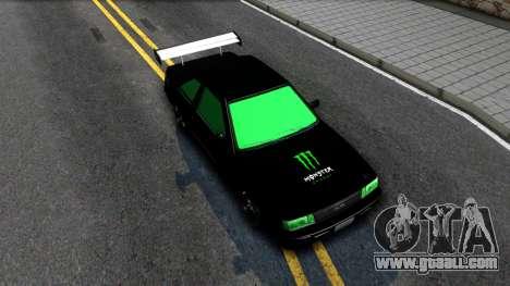 GTA 5 Karin Futo - Monster Energy for GTA San Andreas right view