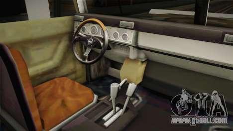 New Patriot Hummer for GTA San Andreas back view