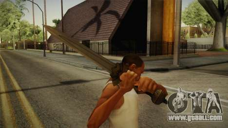 Injustice: Gods Among Us - Wonder Woman Sword for GTA San Andreas third screenshot