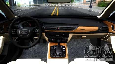 Audi RS7 Sportback for GTA San Andreas inner view