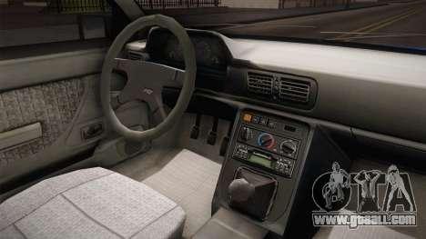 Daewoo-FSO Polonez Caro Plus Policja 2 1.6 GLi for GTA San Andreas inner view