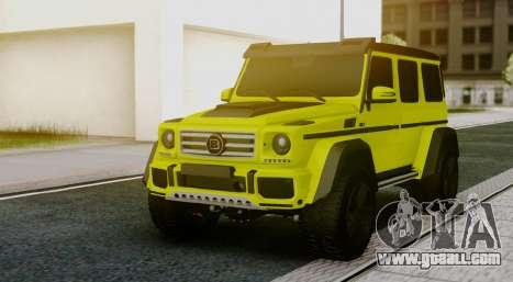 Mercedes-Benz G63 4x4 for GTA San Andreas