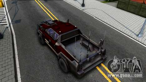 Tactical Vehicle for GTA San Andreas back view