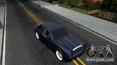 Rolls-Royce Phantom for GTA San Andreas right view