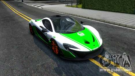 McLaren P1 2015 for GTA San Andreas side view