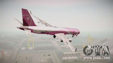 Boeing 757-200 Northwest Airlines Breast Cancer for GTA San Andreas left view