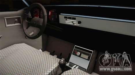 Renault 12 TSW Break for GTA San Andreas inner view
