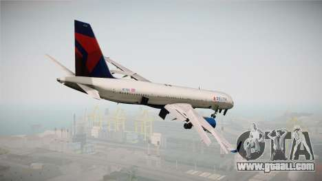 Boeing 757-200 Delta Air Lines for GTA San Andreas left view