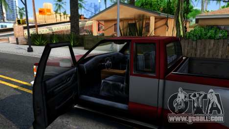 Chevrolet Silverado SA Style for GTA San Andreas inner view