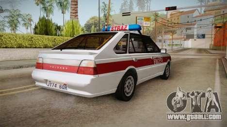 Daewoo-FSO Polonez Caro Plus 1.6 GLi Security for GTA San Andreas back left view