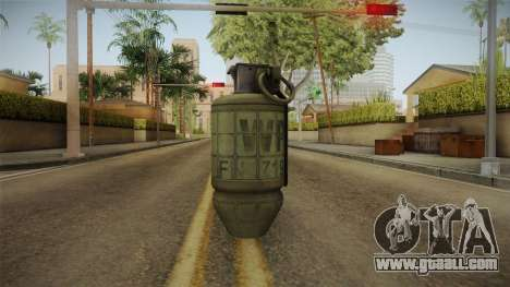 Battlefield 4 - M34 for GTA San Andreas second screenshot