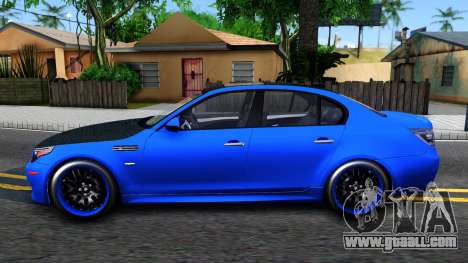 BMW E60 M5 for GTA San Andreas left view