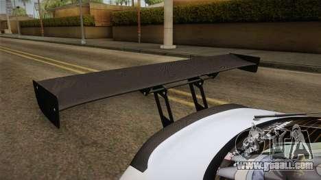 Toyota Supra 8Pralift for GTA San Andreas side view