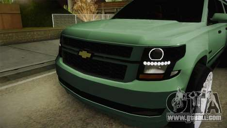 Chevrolet Tahoe GT Stance Bass Booster for GTA San Andreas inner view