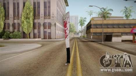 Friday The 13th - Jason Voorhees Machete for GTA San Andreas third screenshot