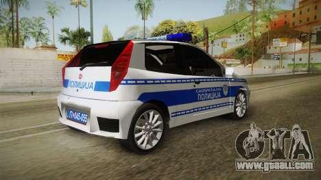 Fiat Punto Gai for GTA San Andreas right view