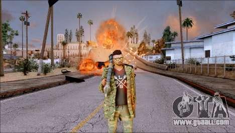 SKIN GTA ONLINE DLC for GTA San Andreas forth screenshot