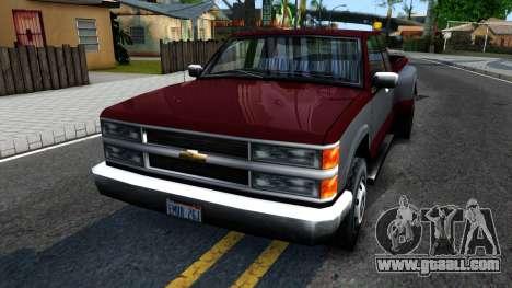 Chevrolet Silverado SA Style for GTA San Andreas