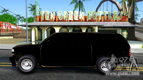 Chevrolet Tahoe for GTA San Andreas left view