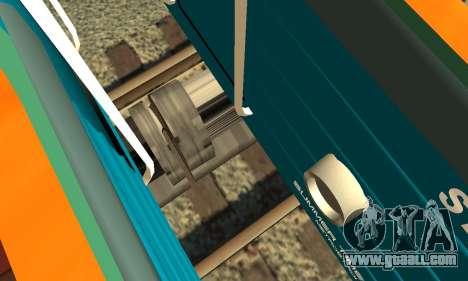 ST_M Metrostav type E for GTA San Andreas upper view