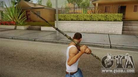 Injustice: Gods Among Us - Aquaman Trident for GTA San Andreas third screenshot