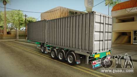 Trailer Container v1 for GTA San Andreas left view