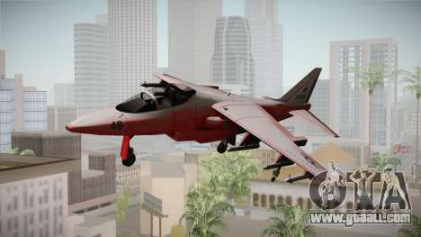 Red Hydra for GTA San Andreas