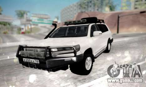 Toyota Land Cruiser 200 2016 for GTA San Andreas