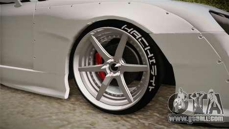 Toyota Supra 8Pralift for GTA San Andreas back view