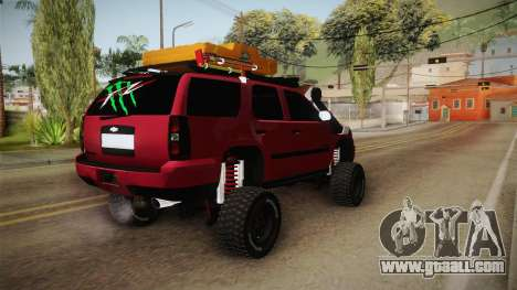 Chevrolet Tahoe Semi Offroad VZLA Edition for GTA San Andreas right view