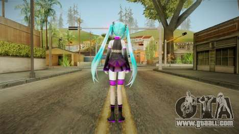 Miku Sweet Devil Outfit for GTA San Andreas third screenshot