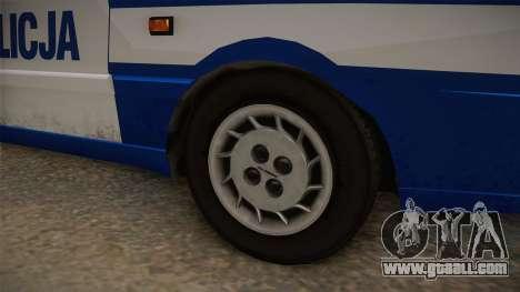 Daewoo-FSO Polonez Caro Plus Policja 2 1.6 GLi for GTA San Andreas back view