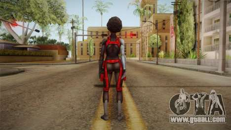 Marvel Future Fight - Misty Knight for GTA San Andreas third screenshot