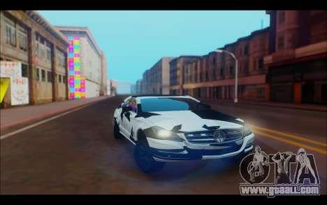 Mercedes-Benz CLS W218 for GTA San Andreas