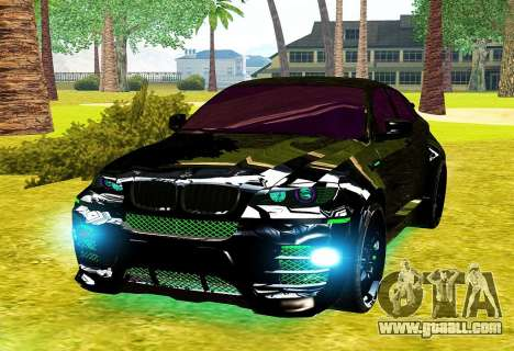 LANDSTALKER BMW X6 HAMMAN SPORTS for GTA San Andreas