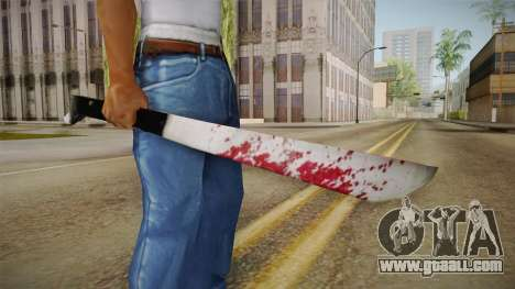 Friday The 13th - Jason Voorhees Machete for GTA San Andreas