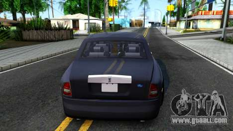 Rolls-Royce Phantom for GTA San Andreas back left view