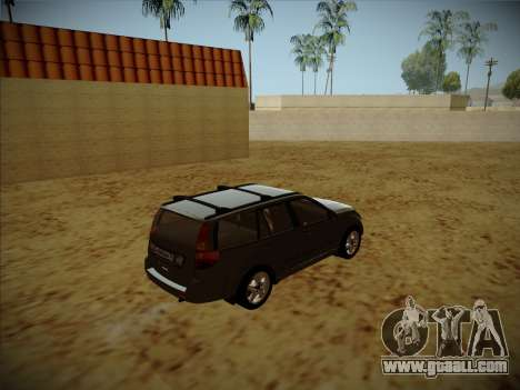 Great Wall Hover H2 for GTA San Andreas back left view