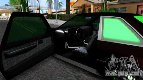 GTA 5 Karin Futo - Monster Energy for GTA San Andreas inner view