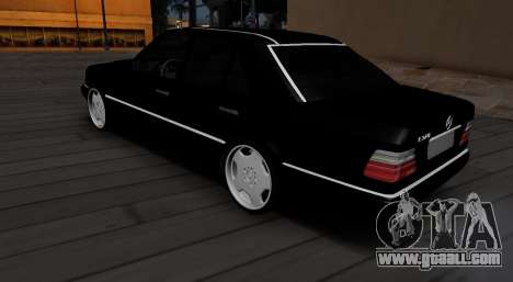 Mercedes-Benz W124 E320 for GTA San Andreas back left view