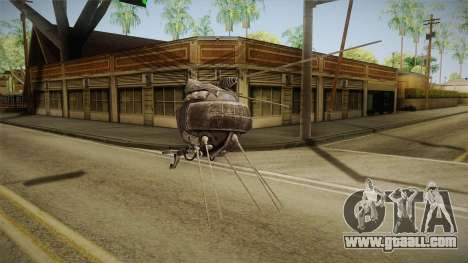 Fallout New Vegas DLC Lonesome Road - ED-E v2 for GTA San Andreas forth screenshot