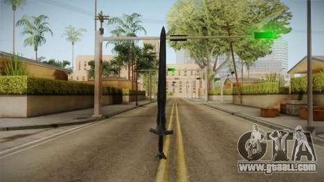 The Elder Scrolls V: Skyrim - Steel Sword for GTA San Andreas third screenshot