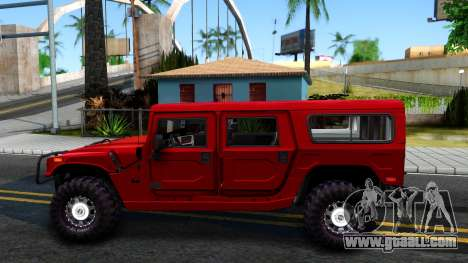 Hummer H1 Alpha for GTA San Andreas left view